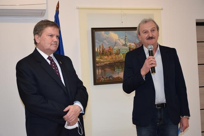 Beregszászi konzulátus: folytatódik a kulturális misszió – Villásek Tibor festőművész kiállítása